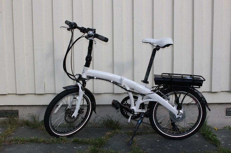 bici elettrica a pedalata assistita pieghevole