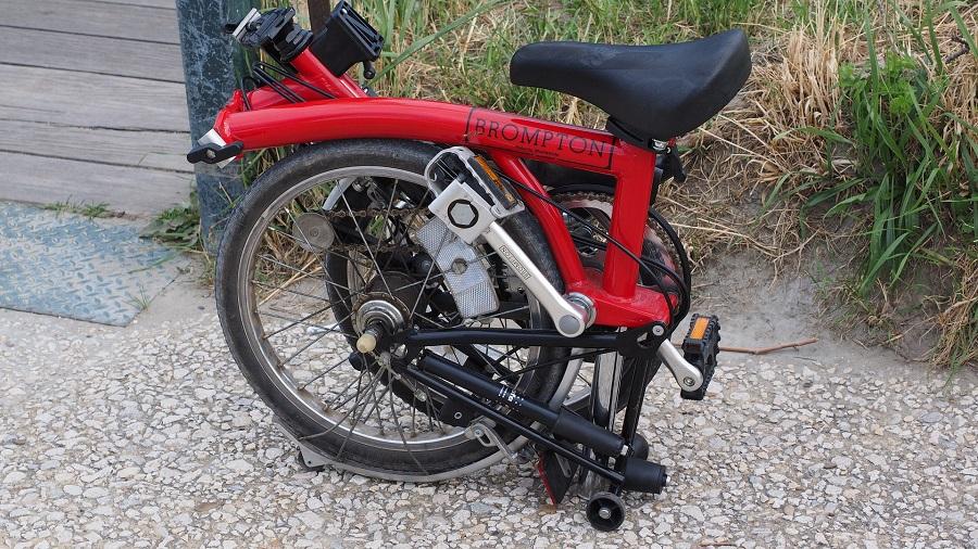 Bici elettrica uomo pieghevole: