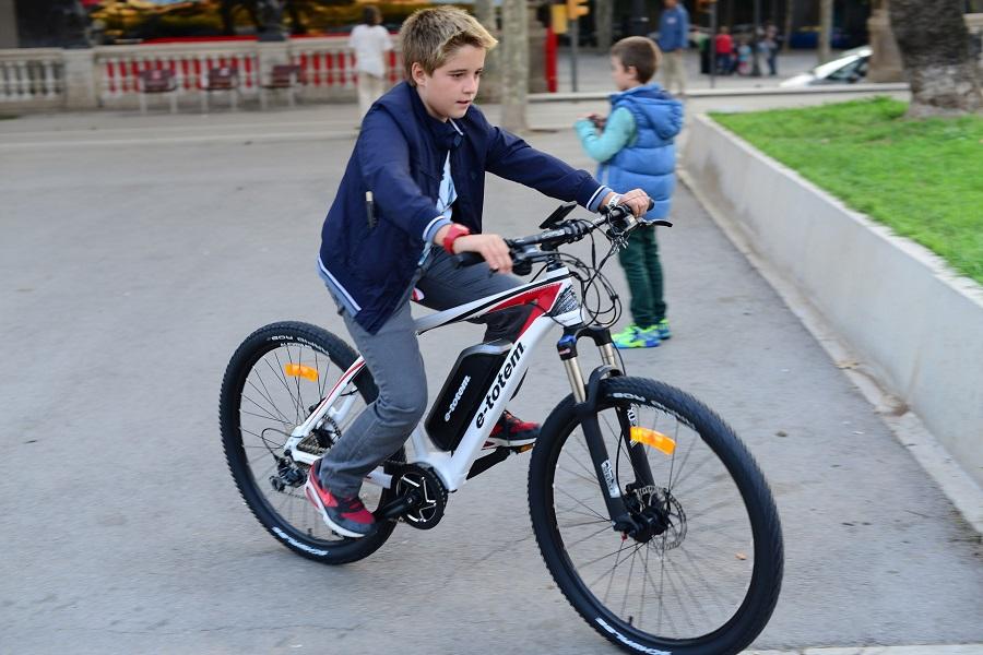Bici elettrica per bambini