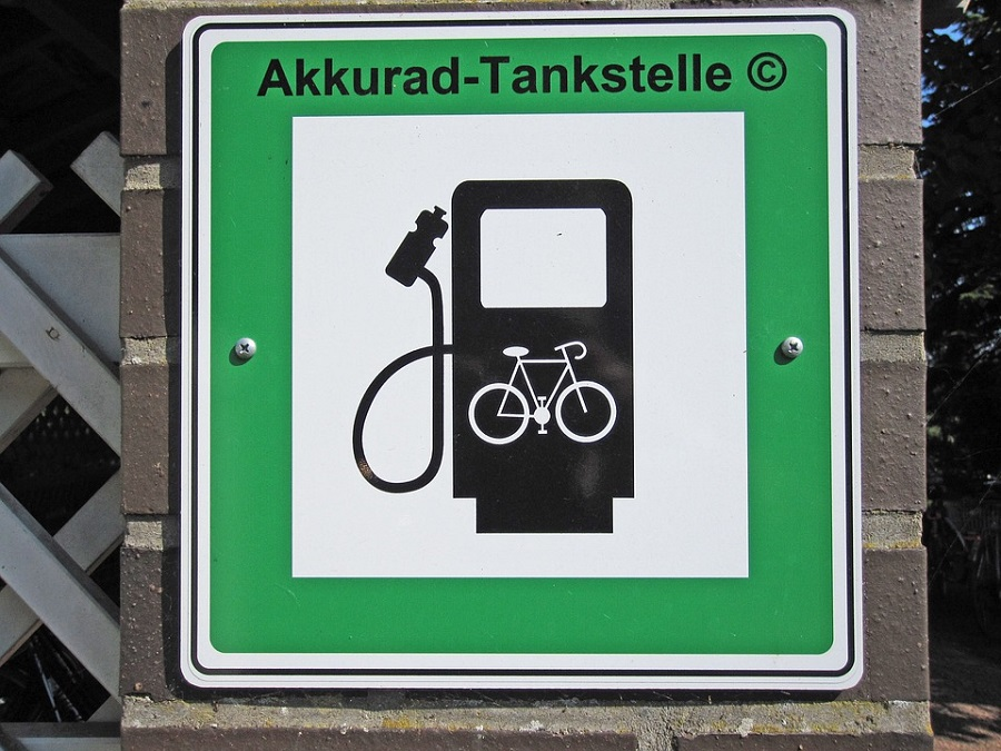 Bici elettrica litio