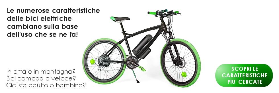 caratteristiche bici elettrica