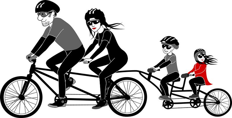 Seggiolino anteriore bici elettrica