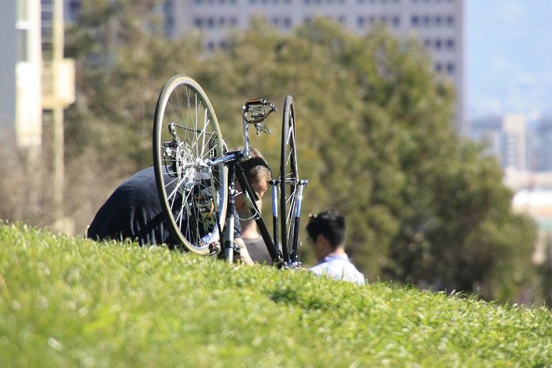 kit di riparazione bici