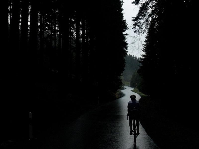 come guidare la bici con pioggia