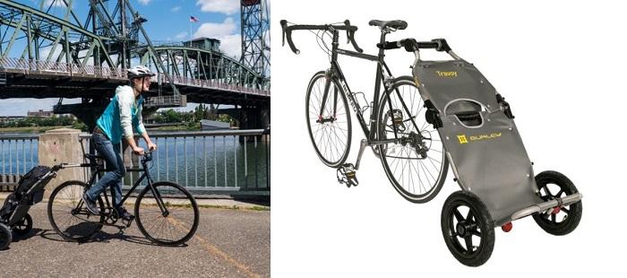 carrelli multiuso per bici elettrica