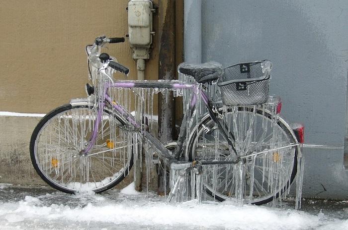 copriscarpe bici