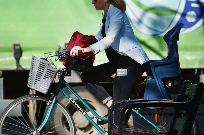 andare al lavoro in bici