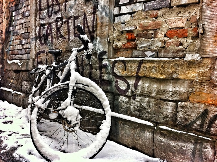 ciclismo invernale