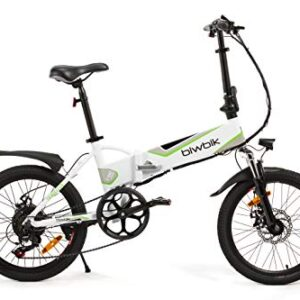 Bikfun bicicletta elettrica pieghevole modello traveller
