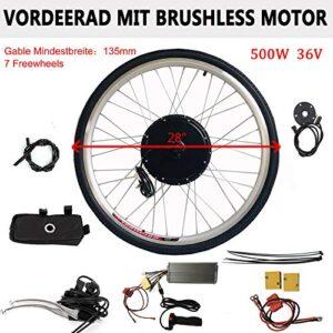 Kit di conversione motore bici elettrica 28 pollici