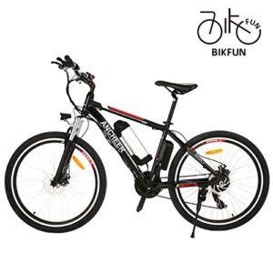 Bikfun bicicletta elettrica pieghevole 26 pollici