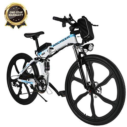 Bikfun bicicletta elettrica pieghevole